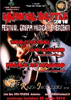 Locandina Musical Battle