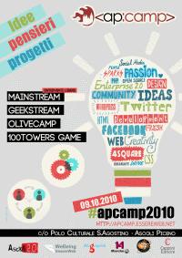 Locandina ApCamp2010