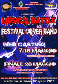 locandina musical battle 2011