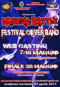 locandina musical battle 2011