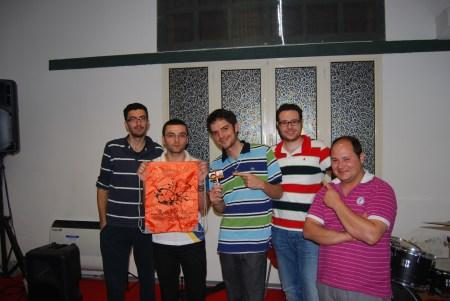 Foto di gruppo con Kenzie Kenzèi