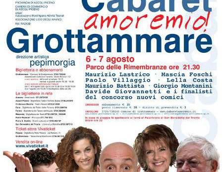 Locandina Cabaret Amore Mio 2011