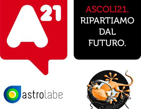 Logo Ascoli21 Astrolabe e RadioIncredibile