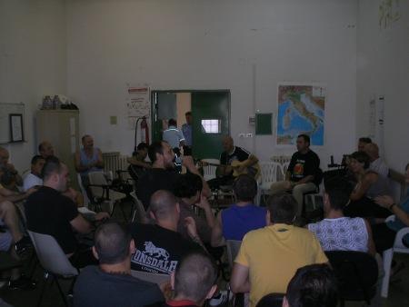 I nerkias e i santacecilia all'ultimo incontro Radio Bravi Ragazzi