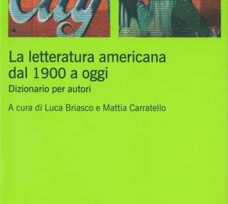 La Letteratura Americana Dal 1900 A Oggi