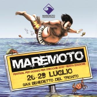 Locandina Maremoto Festival 2012