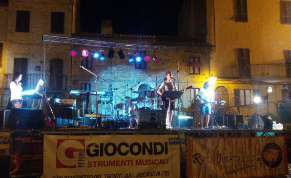 Acquaviva Rock Night 2013: Plebos Band sul palco