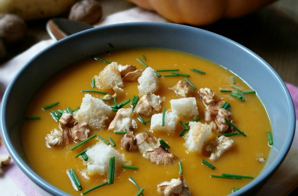 Zuppa zucca curry