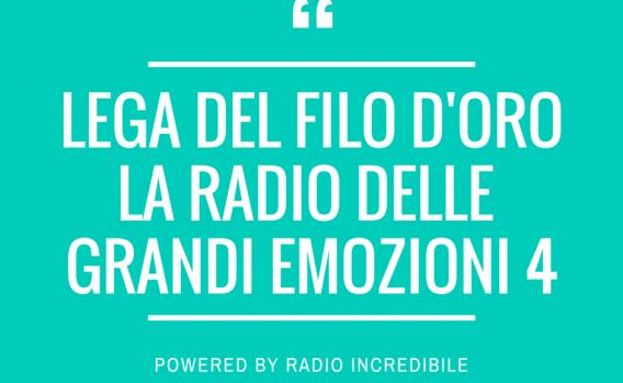 lega del filo d'orola radio delle Grandi emozioni 4