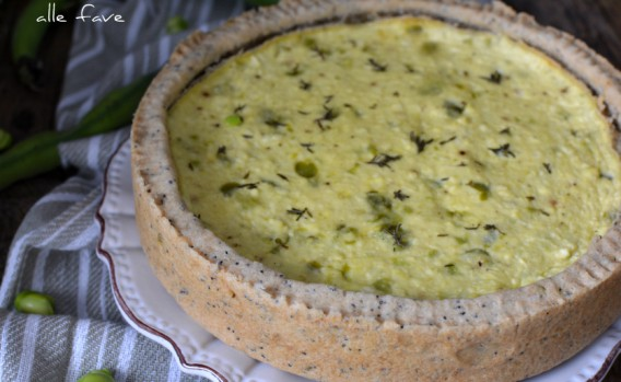 Crostata Salata alle Fave