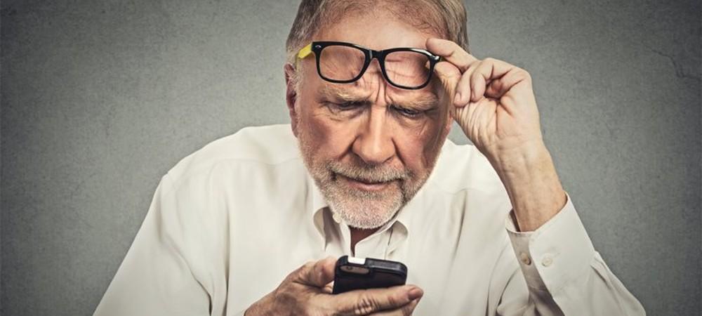 cellulari-anziano