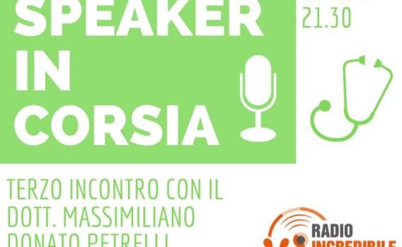 speaker in corsia