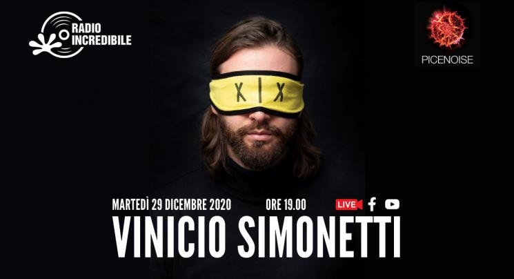 PICENOISE - VINICIO SIMONETTI STREAMYARD