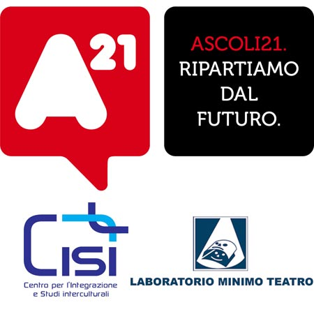 Logo Ascoli 21 Cisi e Laboratorio Minimo Teatro