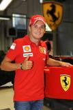 Fisichella in Ferrari