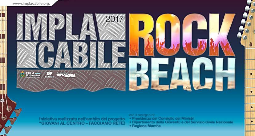 implacabile rock beach